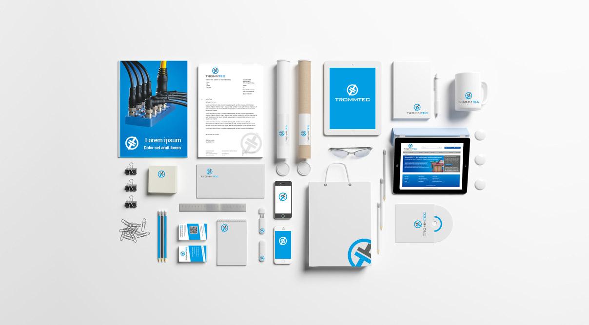 Corporate Design Trommtec