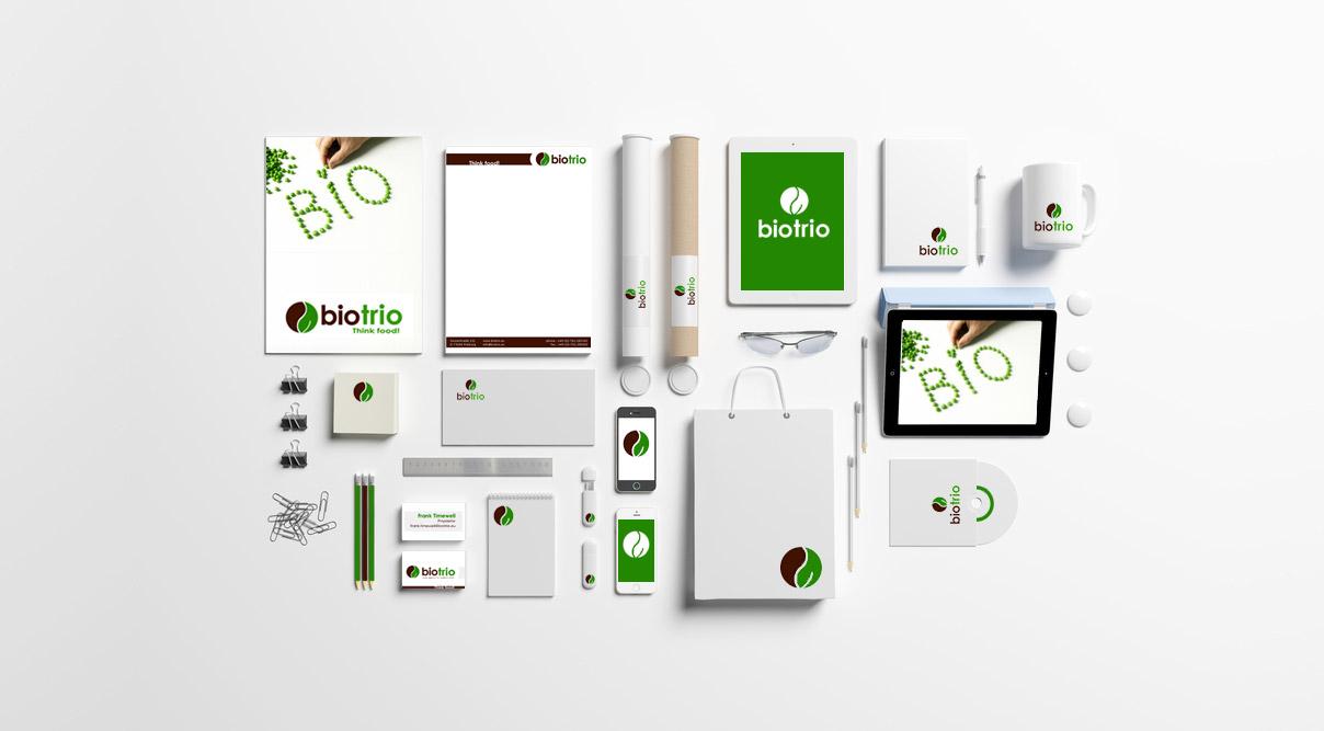 Corporate Design Biotrio