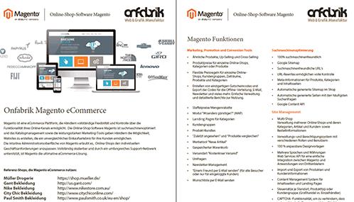 Deutsch Magento Funktionen